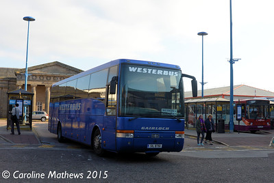 Westerbus SIL8761, Inverness Bus Station, 2nd October 2015