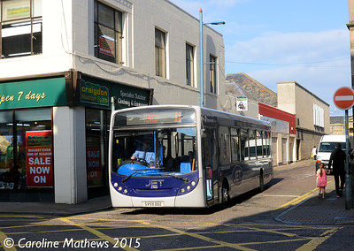 Stagecoach 27601 (SV59DDZ), Margaret Street, Inverness, 2nd October 2015
