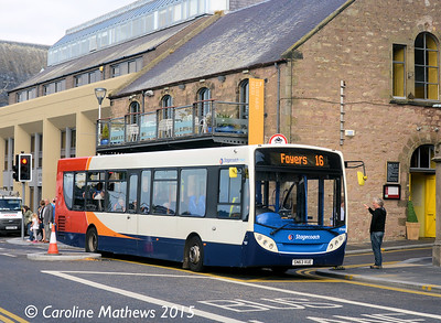 Stagecoach 27906 (SN63VUE), Bank Street, Inverness, 2nd October 2015