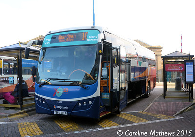 Stagecoach 53634 (SV61CUJ), Inverness Bus Station, 2nd October 2015