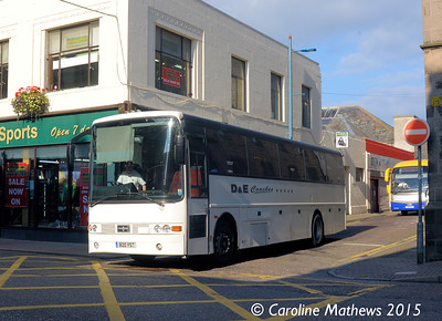 D & E Coaches B20YST, Inverness, 2nd October 2015