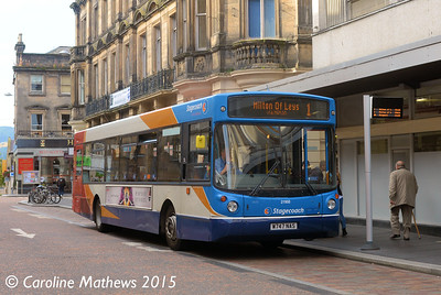 Stagecoach 21168 (W747NAS), Queensgate, Inverness, 2nd October 2015