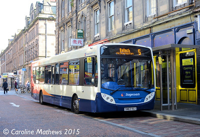 Stagecoach 27910 (SN63VUJ), Union Street, Inverness, 2nd October 2015