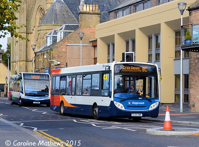 Stagecoach 37258 (SL64HWR), Bank Street, Inverness, 2nd October 2015