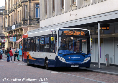 Stagecoach 37255 (SL64HWM), Queensgate, Inverness, 2nd October 2015