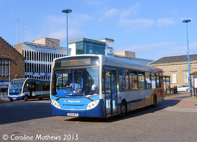 Stagecoach 27537 (SV57BYT), Inverness Bus Station, 2nd October 2015