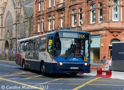 Stagecoach 20925 (R925XVM), Academy Street, Inverness, 2nd October 2015
