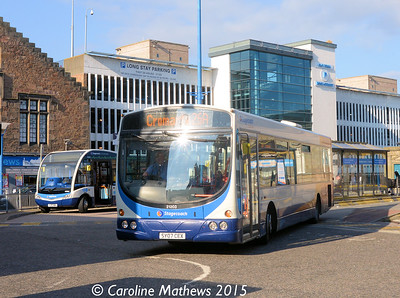 Stagecoach 21203 (SY07CEX), Inverness Bus Station, 2nd October 2015