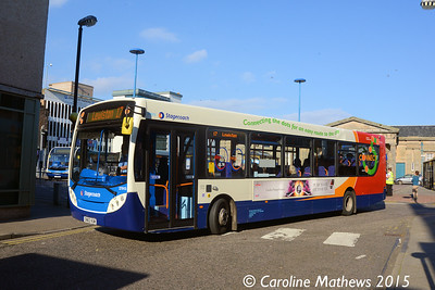 Stagecoach 27913 (SN63VUM), Inverness Bus Station, 2nd October 2015