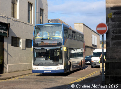 Stagecoach 16948 (SY07CUX), Margaret Street, Inverness, 2nd October 2015