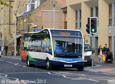Stagecoach 48901 (YJ15AWC), Bank Street, Inverness, 2nd October 2015