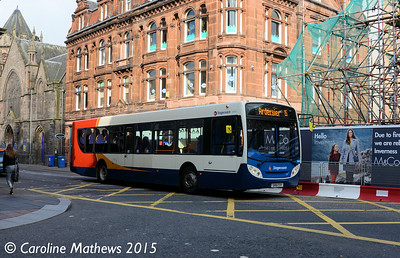 Stagecoach 28601 (SV61CXY), Academy Street, Inverness, 2nd October 2015