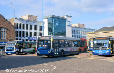 Stagecoach 28604 (SV61CYC), Inverness Bus Station, 2nd October 2015 Stagecoach , Inverness, 2nd October 2015