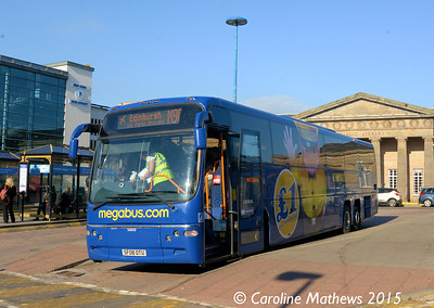 Stagecoach 54049 (SF08GTU), Inverness Bus Station, 2nd October 2015