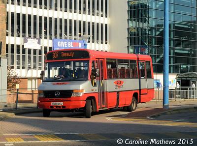 D & E Buses BU58DEC, Inverness Bus Station, 2nd October 2015