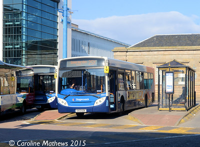 Stagecoach 28643 (SV12AZR), Inverness Bus Station, 2nd October 2015