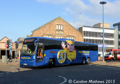 Stagecoach 54118 (SP62CFE), Inverness Bus Station, 2nd October 2015