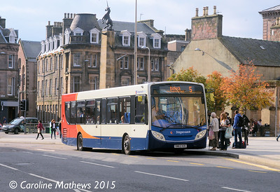 Stagecoach 27908 (SN63VUG), Academy Street, Inverness, 2nd October 2015