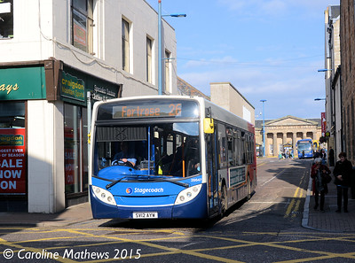 Stagecoach 28647 (SV12AYW), Margaret Street, Inverness, 2nd October 2015