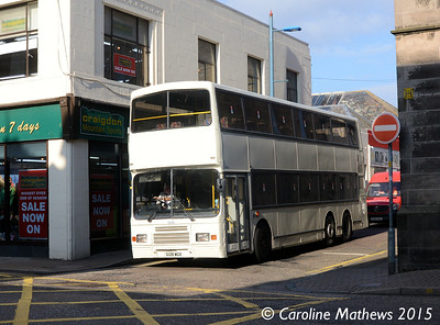 Stagecoach 13636 (G128WGX), Margaret Street, Inverness, 2nd October 2015