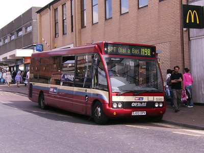 First 50465 (SJ03DPV), Motherwell, 4th August 2007