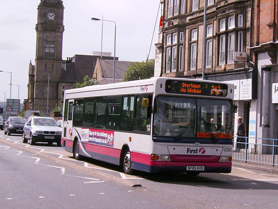 First 42882 (SF05KXD), Motherwell, 4th August 2007