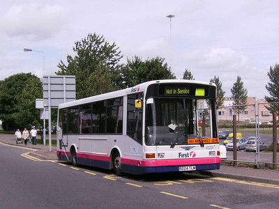 First 41224 (R224TLM), Motherwell, 4th August 2007