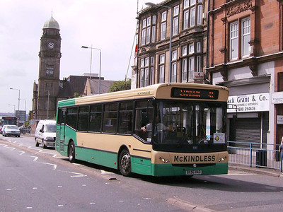 McKindless BX56ZAG, Motherwell, 4th August 2007