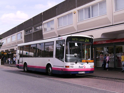 First 41220 (R220TLM), Motherwell, 4th August 2007