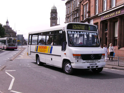 Ballantyne S452LGN, Motherwell, 4th August 2007