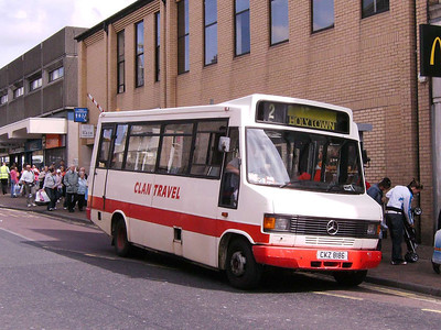 Clan Travel CKZ8186, Motherwell, 4th August 2007