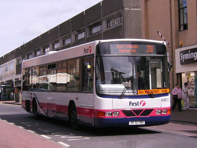 First 61613 (SF51YBO), Motherwell, 4th August 2007