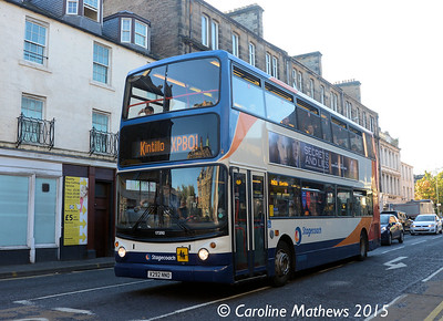 Stagecoach 17292 (X292NNO), County Place, Perth, 29th September 2015