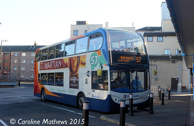 Stagecoach 10007 (SP12CGE), Perth Bus Station, 29th September 2015