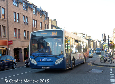 Stagecoach 22569 (SP08DCU), South Street, Perth, 29th September 2015