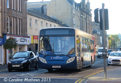Stagecoach 22564 (SP08DBY), South Street, Perth, 29th September 2015