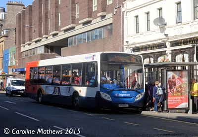 Stagecoach 22566 (SP08DCE), South Street, Perth, 29th September 2015