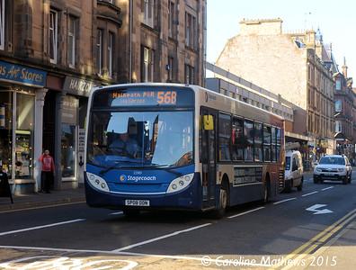 Stagecoach 22580 (SP08DDN), Scott Street, Perth, 29th September 2015