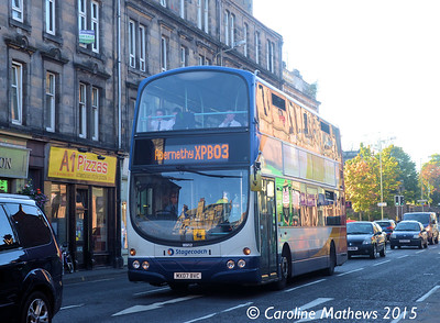 Stagecoach 16952 (MX07BVC), County Place, Perth, 29th September 2015