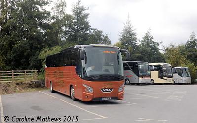 Austin Travel ESU974, Pitlochry, 23rd September 2015