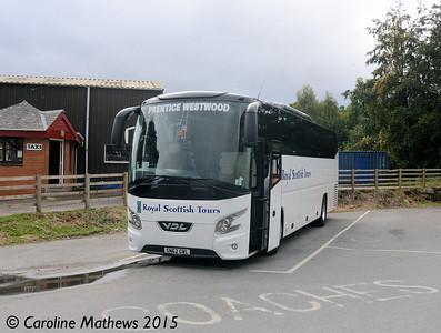 Prentice Westwood SN62GWL, Pitlochry, 23rd September 2015