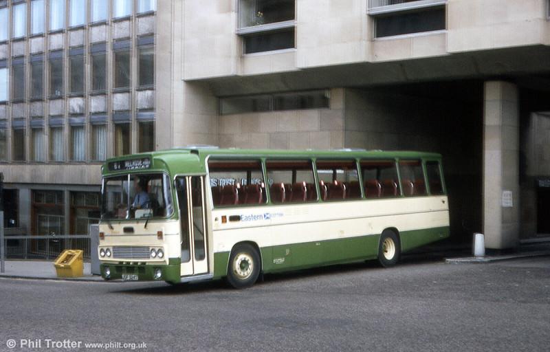 Eastern Scottish ZS924 (JSF 924T) a Seddon Pennine/Alexander T type DP49F seen in 1983.