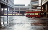 A general view of Glasgow's Anderston Cross Bus Station in 1983.