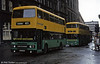 Greater Glasgow Leyland Olympian CGG 829X on a gloomy Glaswegian day in April 1983.
