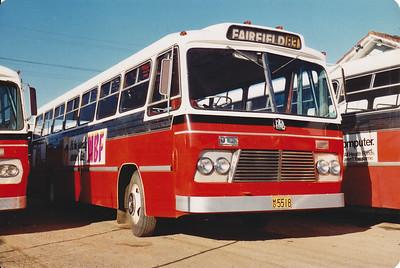 m/o 5518 BEDFORD VAM70/CCMC (7/70) Photo taken at the depot in 1982.