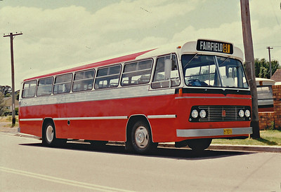 m/o 7071 BEDFORD BRP2/CCMC (3/76) (ex Evans m/o 402)  Photo Location: Katen & Heath Depot. Photo Date: 1983 (NOTE: To Bosnjak 11/76 with Evans Sale, then 1980 to Katen & Heath, Fairfield NSW (Silverline) as m/o 4966. Damaged by Fire, Rebuilt & Re-reg m/o 7071