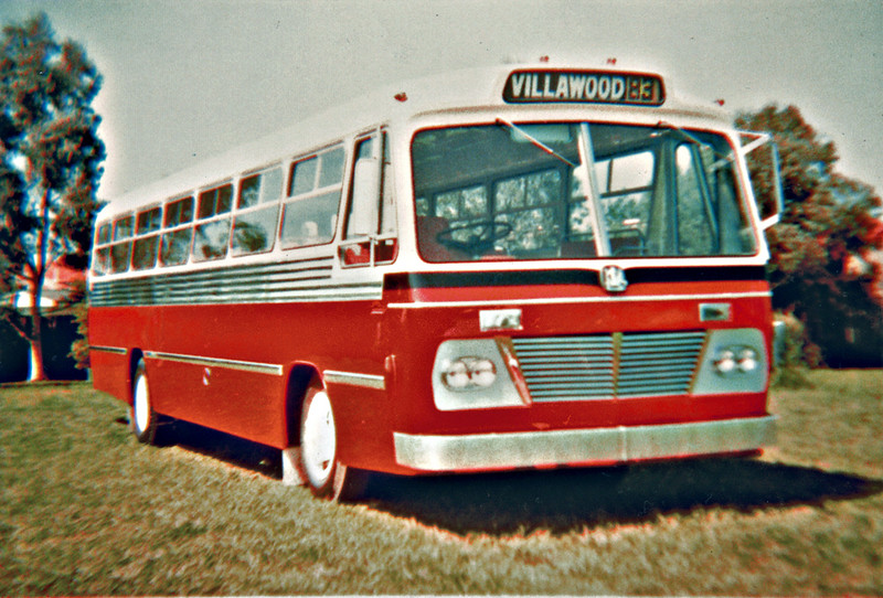 m/o 5220 BEDFORD VAM70/CCMC (2/69) Photo taken of new bus in CCMC rear yard in 1969. (Image from CCMC collection)