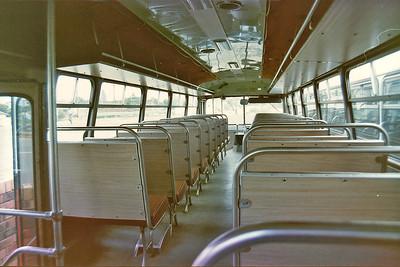 m/o 4896 BEDFORD VAM70/CCMC (6/74) (ex Evans m/o 5976) Photo Location: Katen & Heath Depot, Fairfield. Photo Date: 1983 (NOTE: To Bosnjak 11/76 with Evans Sale, then 1980 to Katen & Heath, Fairfield NSW (Silverline) as m/o 4896. De-reg 1996, then re-reg 4/97 as m/o 9239)