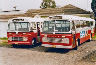 m/o 4792 BEDFORD SB5/CCMC (6/64) & m/o 5039 Bedford VAM5/CCMC (10/66) Photo taken at Depot in 1982