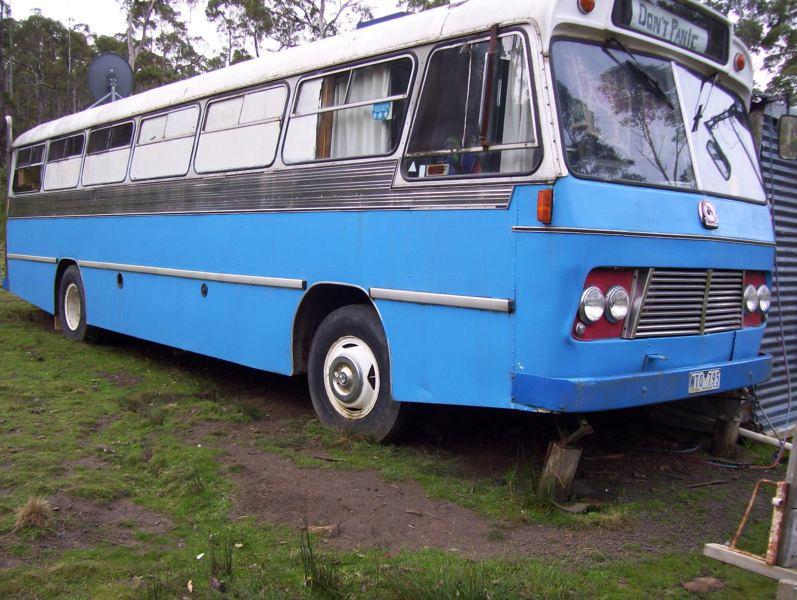 Ex Katen & Heath (Silverline) m/o 513 BEDFORD BLP2/CCMC (2/77) Image from Gumtree where it was advertised for sale 10/2014 as a partially completed motorhome located in St Marys, Tasmania.